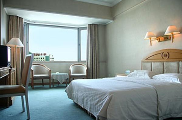 长春名门海航酒店欧式的大堂风格独特